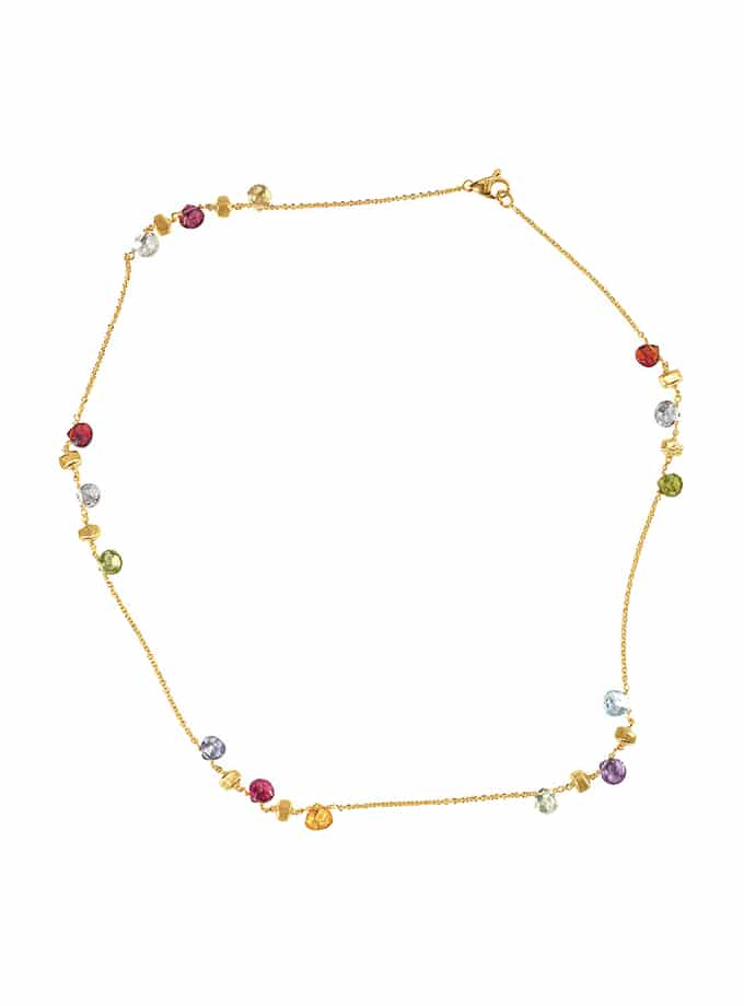 MARCO BICEGO ONE STRAND SIMPLE PARADISE NECKLACE-001
