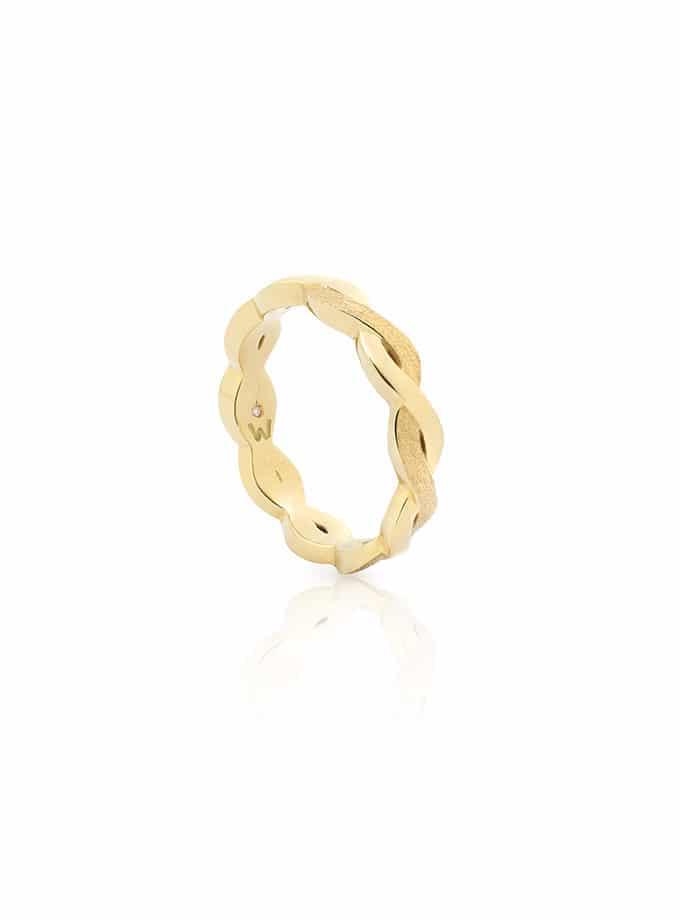 W-ETERNAL RING YELLOW GOLD-001