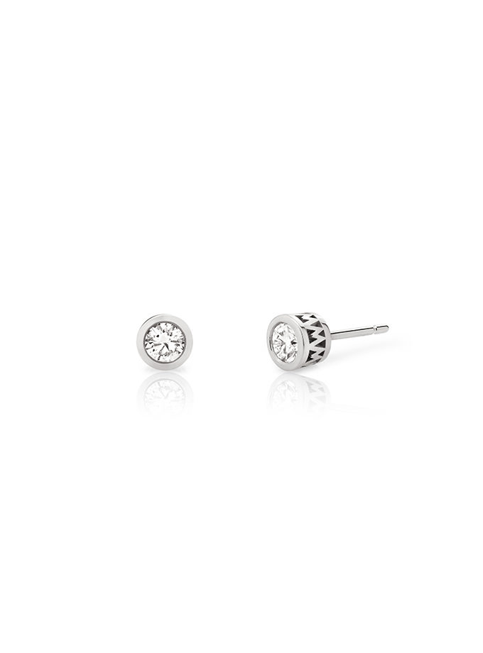 W-Orbit Earrings White Gold and Diamonds-001
