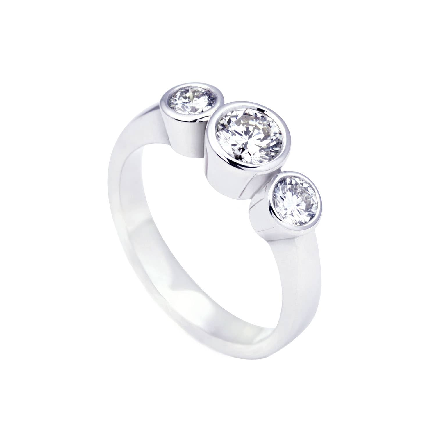 ring in diamonds engagement band both delicate is cover attention a eternity of setting getting style the entire pave and this diamond carats an settings rounded
