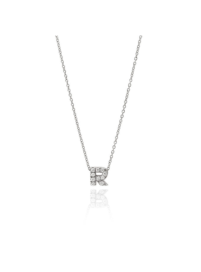 PENJOLL INICIAL R OR BLANC I DIAMANT-001