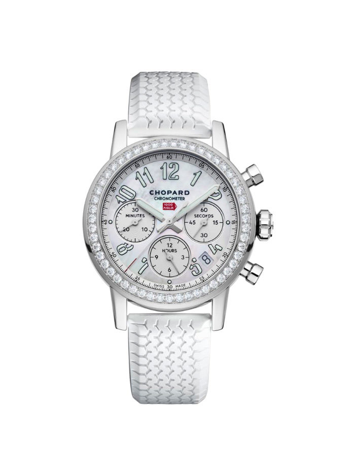 MILLE MIGLIA CLASSIC CHRONOGRAPH - 39 MM, AUTOMÀTIC, ACER INOXIDABLE, DIAMANTS