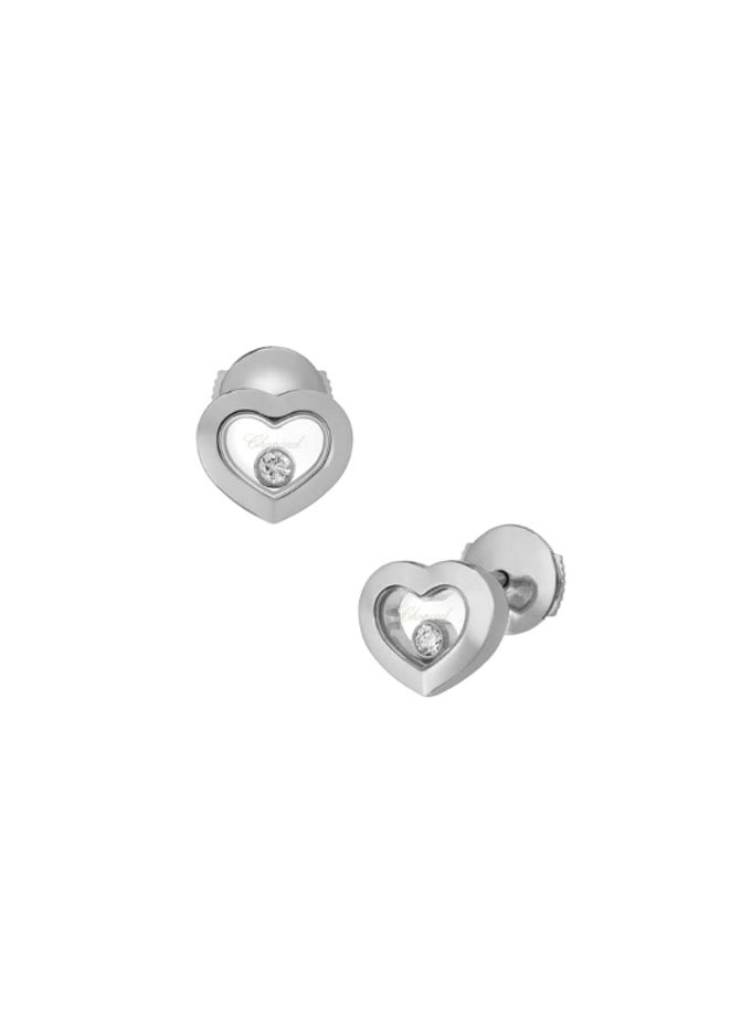 HAPPY DIAMONDS ICONS - ARRACADES, OR BLANC, DIAMANTS