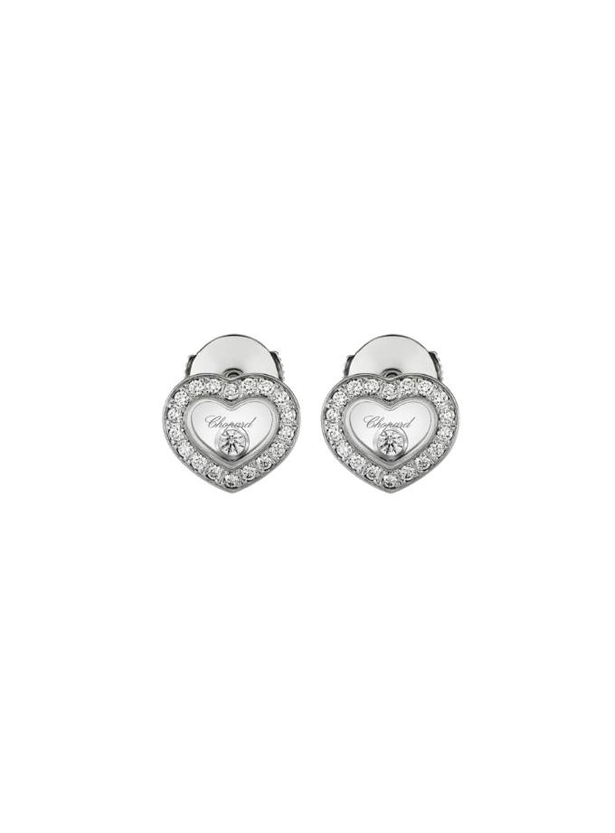 HAPPY DIAMONDS ICONS - ARRACADES, OR BLANC, DIAMANTS