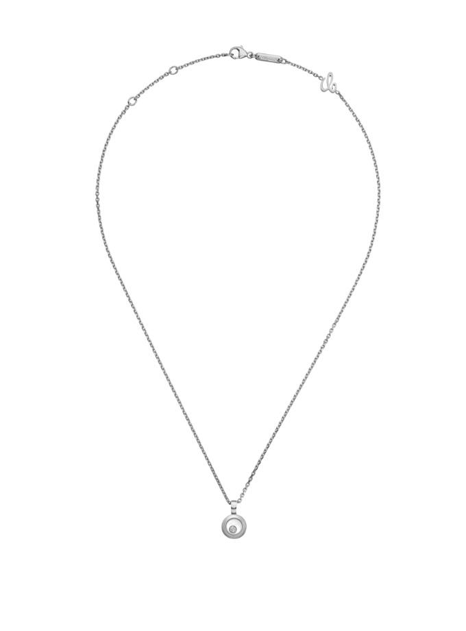 HAPPY DIAMONDS ICONS - COLLARET, OR BLANC, DIAMANT