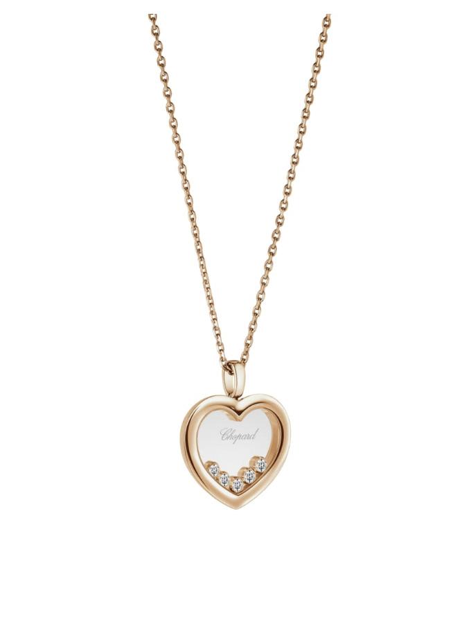 HAPPY DIAMONDS ICONS - COLLARET, OR ROSA, DIAMANTS