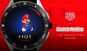 TAG Heuer Connected x Super Mario