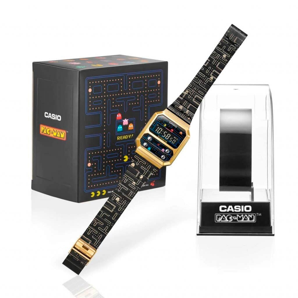 Casio llança el rellotge de PAC-MAN, amb un disseny de 1978