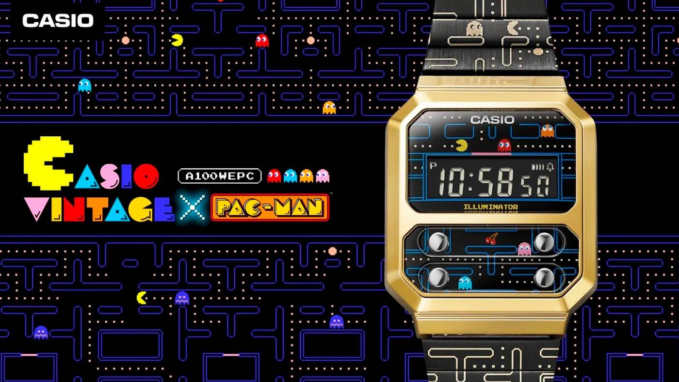 Nostàlgia dels 80: Casio llança el rellotge de PAC-MAN, amb un disseny de 1978